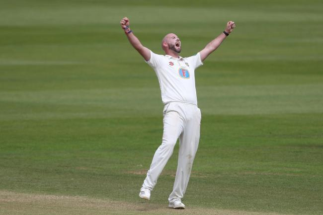 Durham's Chris Rushworth	Picture: Mark Fletcher | MI News & Sport Ltd
