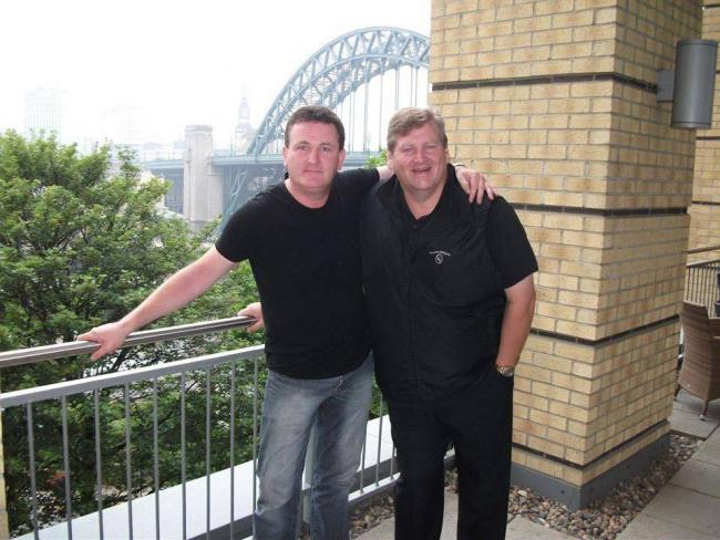 Paul 'Goffy' Gough and John Morgan