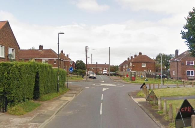 The woman was stabbed in Allen Grove in Stokesley. Picture: Google