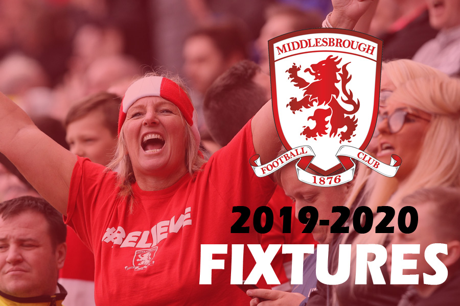 2019-20 Fixtures: Middlesbrough start with Friday-night trip to Luton