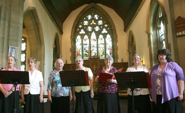 Musicality performing in Leyburn in 2009