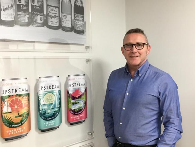 Mick Howard of Clearly Drinks, left behind a military career for the drinks industry