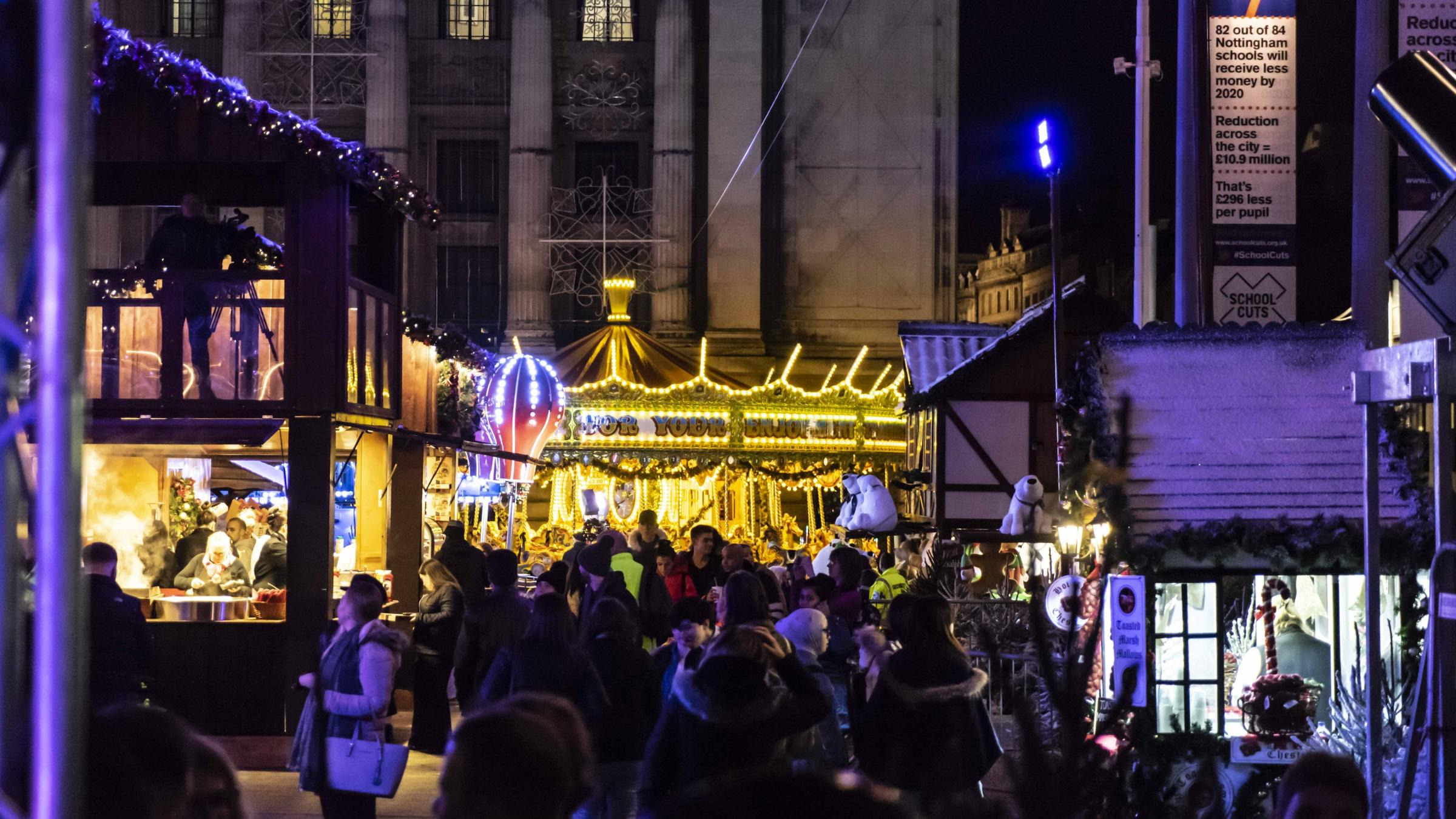 Row over Newcastle Christmas market relocation