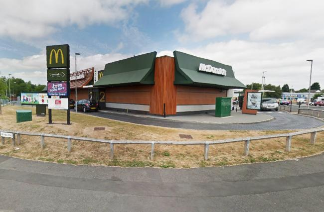 McDonalds, just off North Road in Darlington. Picture: Google