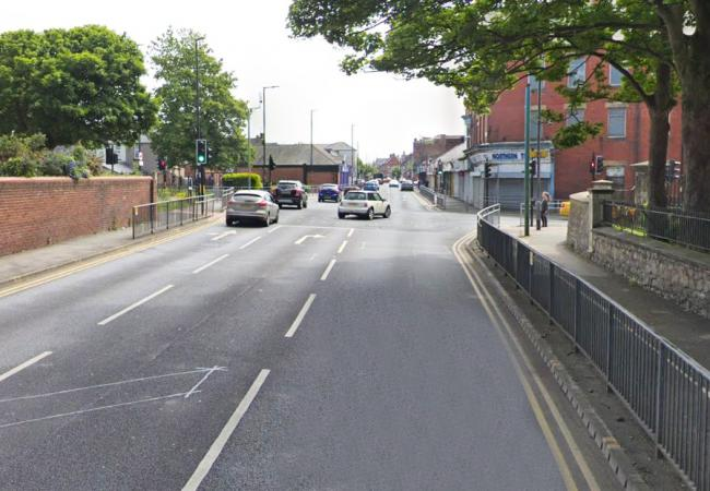 The incident happened along Raby Road in Hartlepool. Picture: Google