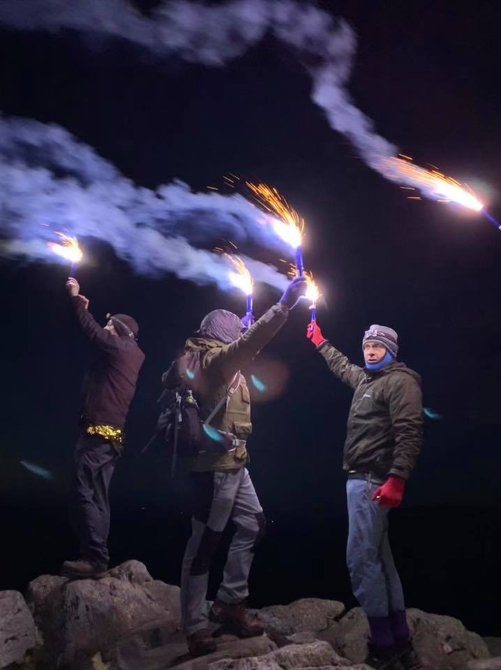 Lighting up the Lakes in tribute