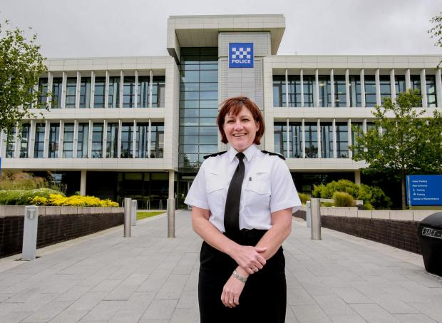 The Northern Echo: Durham Police Chief Constable Jo Farrell. Picture: SARAH CALDECOTT