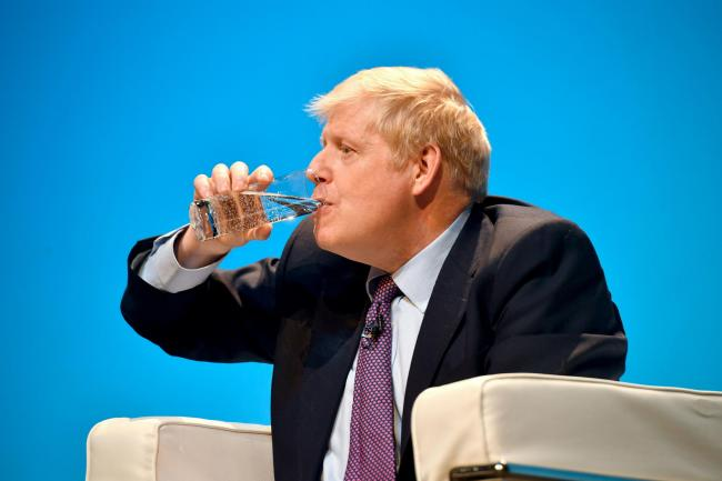Conservative party leadership candidate Boris Johnson during the first party hustings at the ICC in Birmingham. PRESS ASSOCIATION Photo. Picture date: Saturday June 22, 2019. See PA story POLITICS Tories. Photo credit should read: Ben Birchall/PA Wire.