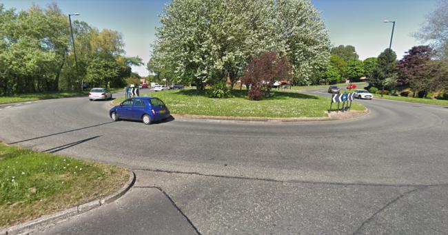 A man was hit by a car at the Silksworth Lane junction on Premier Road, Sunderland Picture: Google