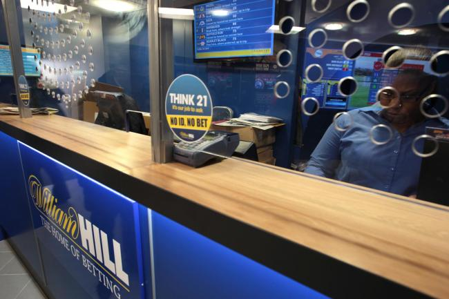 Up to 700 William Hill betting shops could close. Picture: PRESS ASSOCIATION