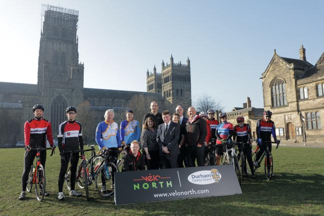 The official launch of Velo North, which has been cancelled