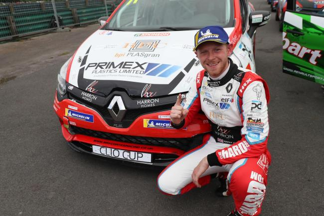 Scorton driver Max Coates finished second in this year's Renault UK Clio Cup championship standings after a dramatic final weekend of racing at Brands Hatch