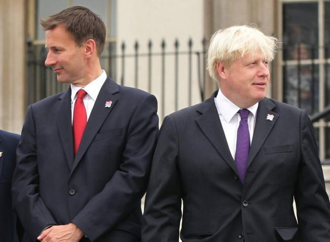 Boris Johnson and Jeremy Hunt will take part in the Conservative Leadership Election 2019 hustings in Darlington. Pictures: PETER BYRNE/PETER MORRISON/PA WIRE