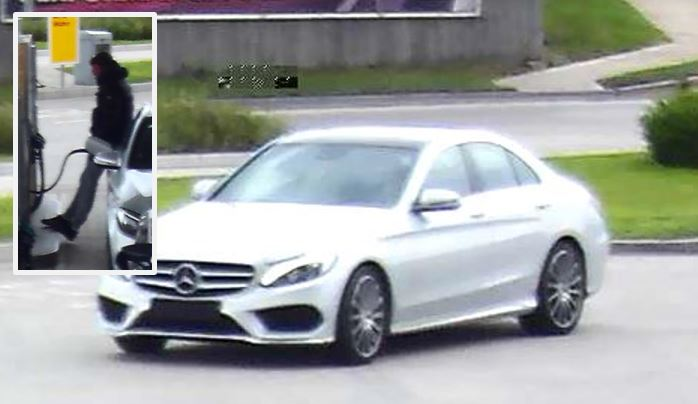 Mercedes driver repeatedly flees without paying for fuel at Exelby Services