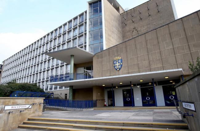 Police were called to Durham's County Hall today after a man gained unathorised access to the building