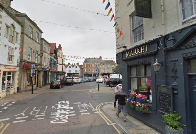The Market Tavern and Market Place in Knaresborough where the assault took place Picture: Pixabay.com