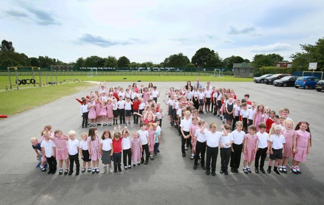 St Joseph's Primary School, in Newton Aycliffe, is celebrating its 50th anniversary                                                                                                                   Picture: SARAH CALDECOTT