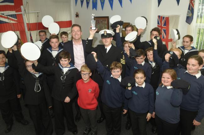 Middlesbrough and Teesside Philanthropic Foundation's June Teesside Hero is Matthew Stamp from the Middlesbrough Sea Cadets Picture: DOUG MOODY
