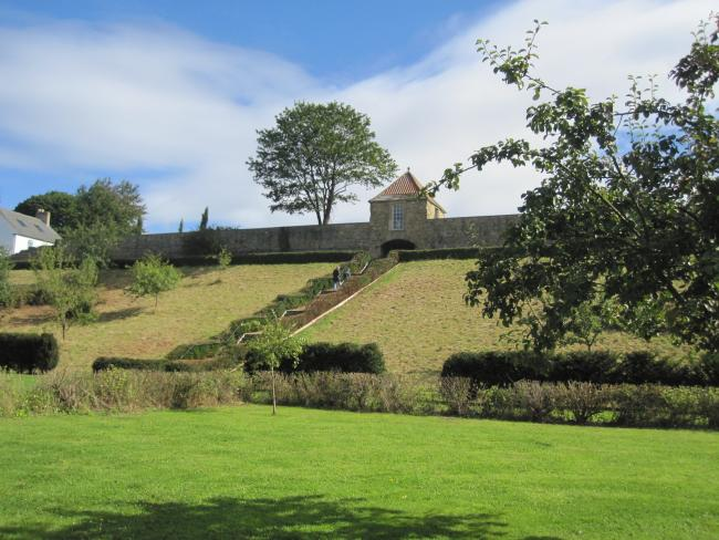 The Old Durham walled gardens, first laid out in the 1630s, will host a traditional concert on Sunday