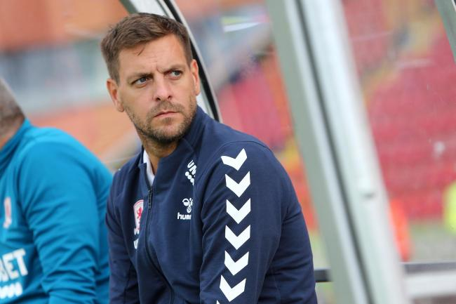 Jonathan Woodgate watched his Middlesbrough team claim a pre-season victory over Gateshead (Picture: Tom Banks)