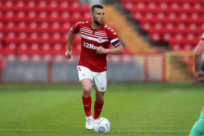 Jonny Howson sets off on a run during Middlesbrough's pre-season win at Gateshead (Picture: Tom Banks).