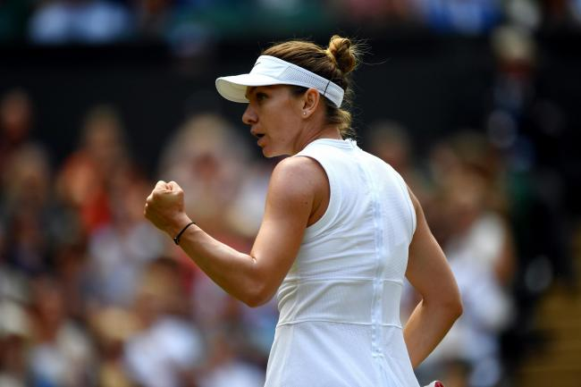 Simona Halep reached the final