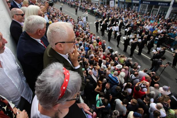 The Northern Echo: The 135th Durham Miners' Gala. Picture: TOM BANKS