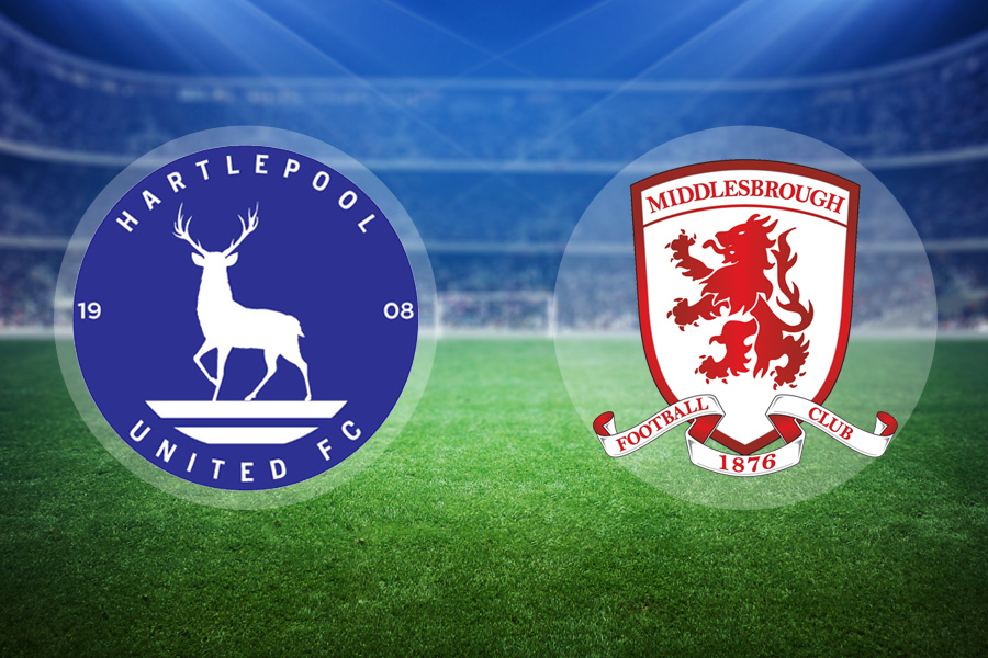 Middlesbrough claim 4-0 win at Hartlepool