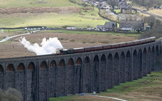 Abraham Woodiwiss and George Benton built a section of the Settle-Carlisle Railway Picture: Owen Humphreys