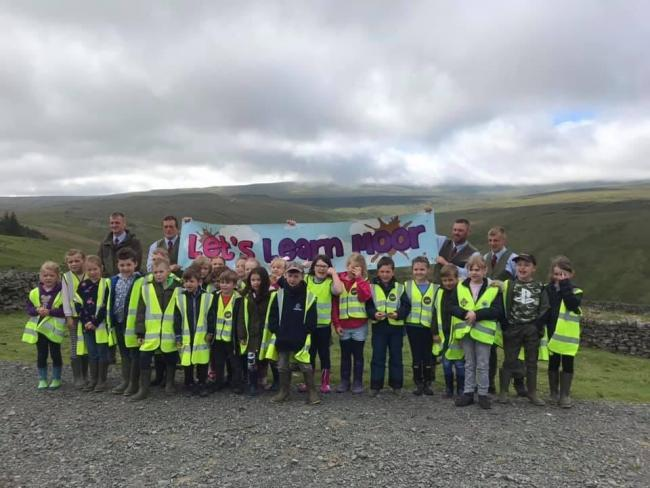 Gamekeepers from local estates were on hand to explain how moorland managed for grouse shooting plays a key role in preserving and enhancing the countryside