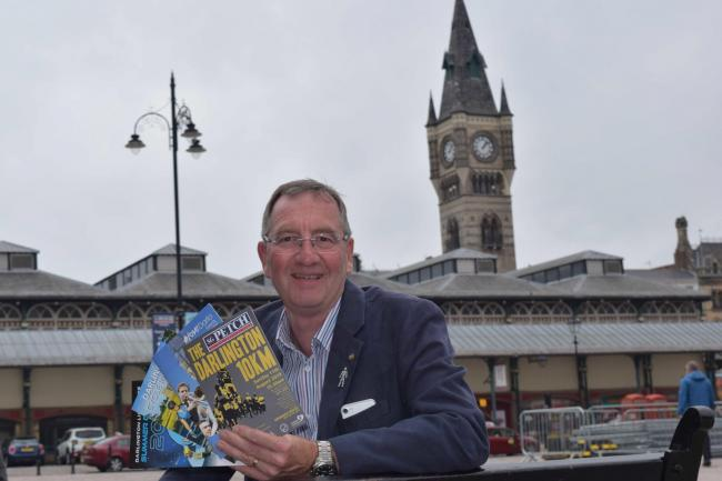 Cllr Paul Howell with some of the summer events leaflets