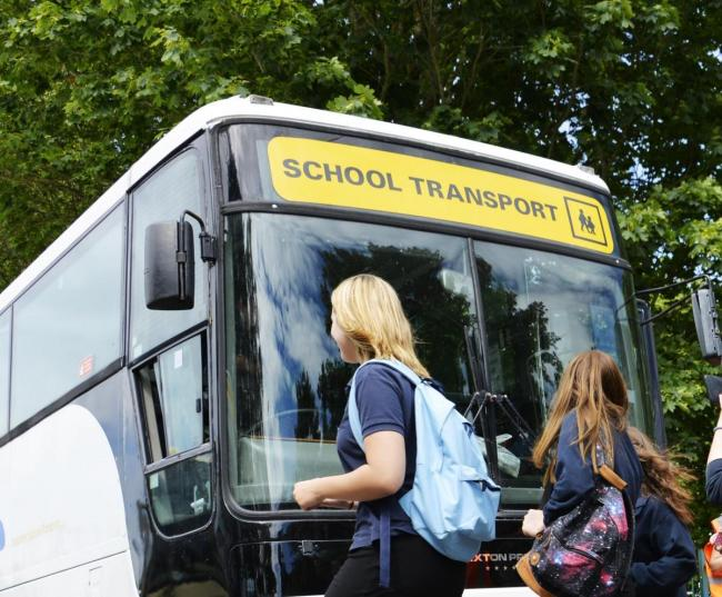 The future of some school bus services in Darlington remains unclear