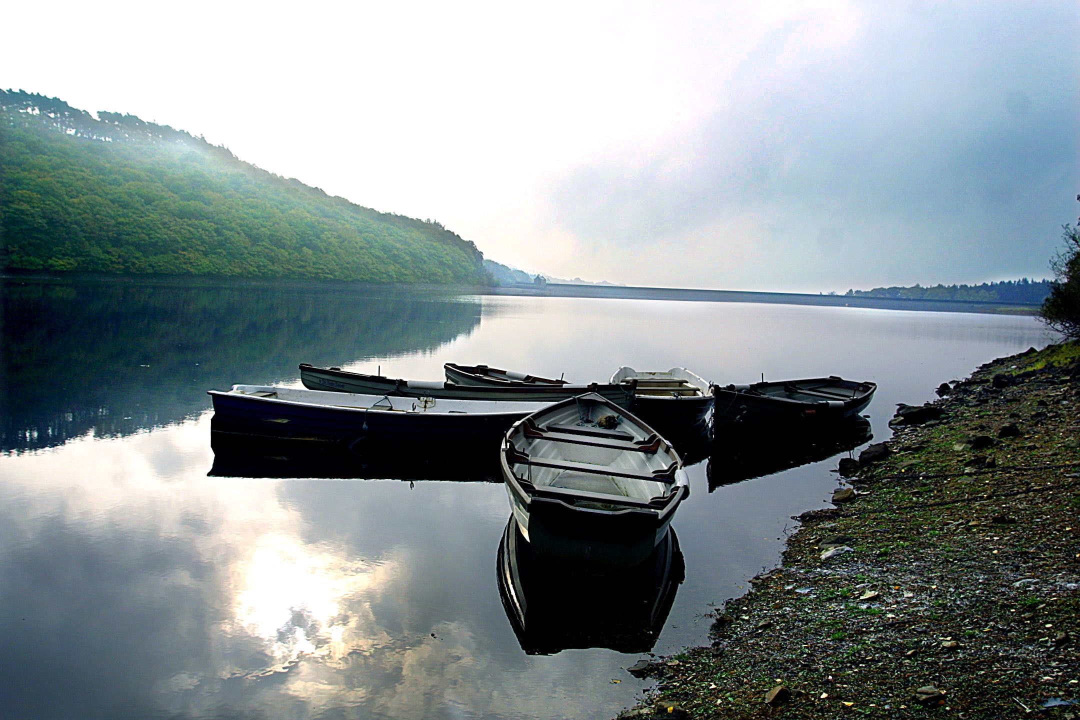 The Weardale reservoir that pioneered a technique now used across the world