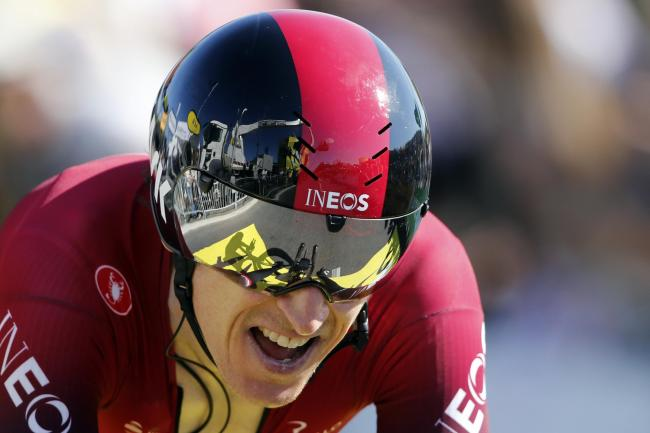 Geraint Thomas saw his hopes of retaining his Tour de France title fade on Saturday