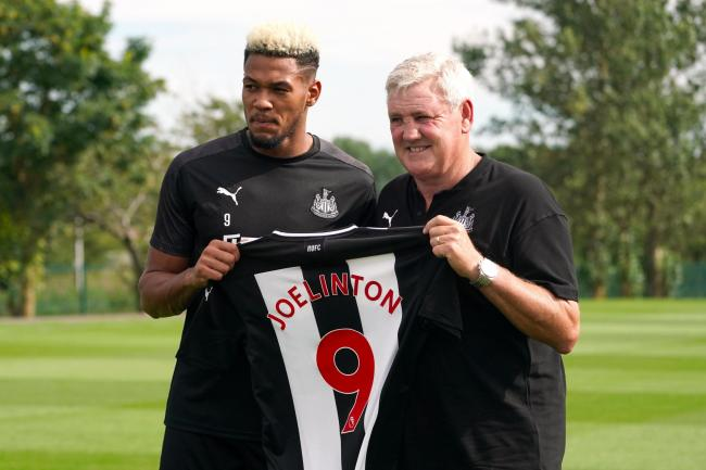 Steve Bruce and £40m buy Joelinton