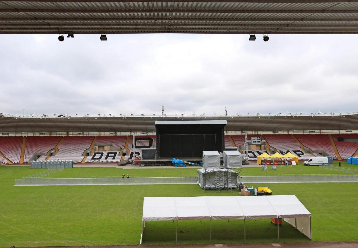 Stage is set for Jess Glynne at Darlington arena | The Northern Echo