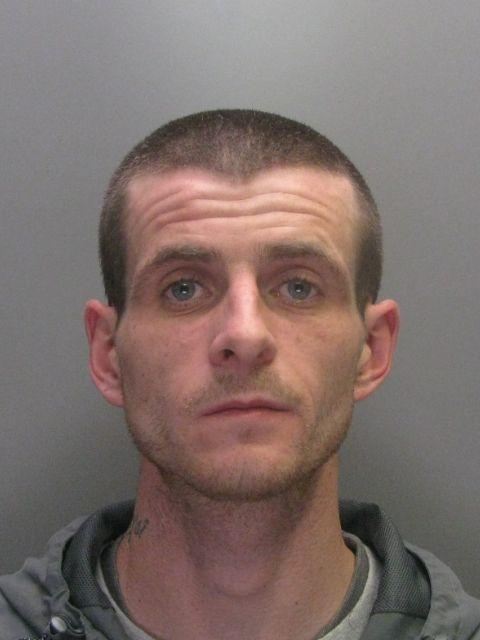 Liam Hender-son, 29, of Heath Road, Middle-stone Moor,was jailed for 36 months