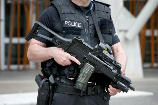 Armed police responded to 'drive-by' shooting in Norton
