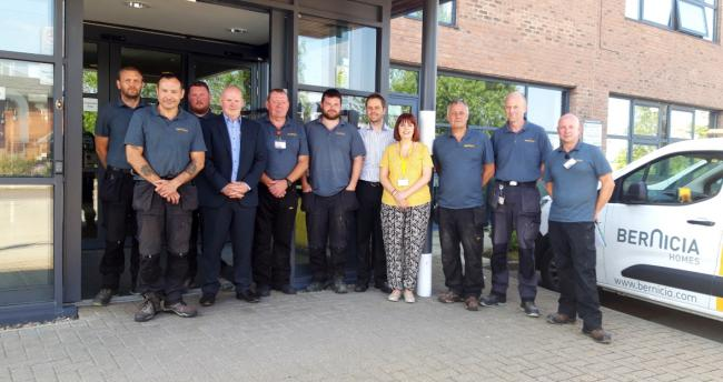 The Bernicia County Durham Handyperson Service team