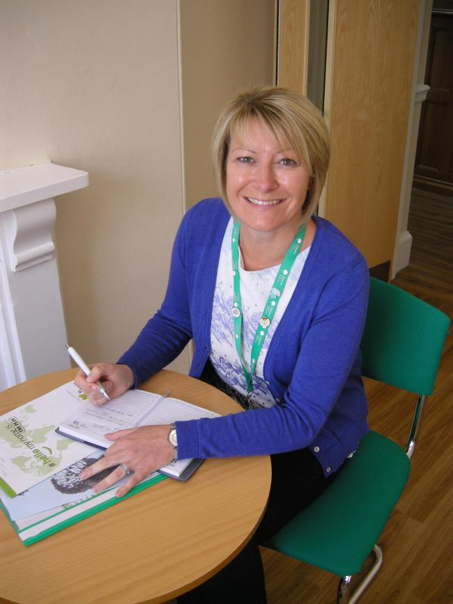 Deputy head of care at St Teresa's Hospice Elizabeth Price