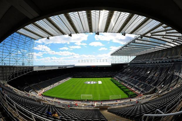 St James' Park is set to host one of England's warm-up matches ahead of next summer's European Championships
