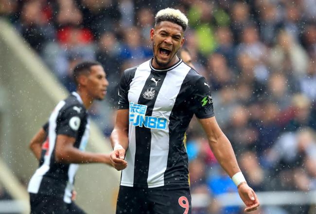 Joelinton joined Newcastle United in a club-record £42m move from Hoffenheim this summer (Picture: Owen Humphreys/PA Wire)