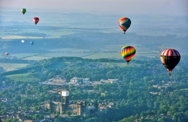 Durham's balloon festival has been cancelled for 2019                       Picture: NORTH NEWS