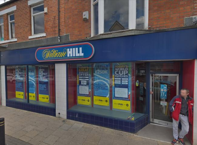Man armed with meat cleaver robs William Hill bookmakers in North Ormesby Picture: GOOGLE