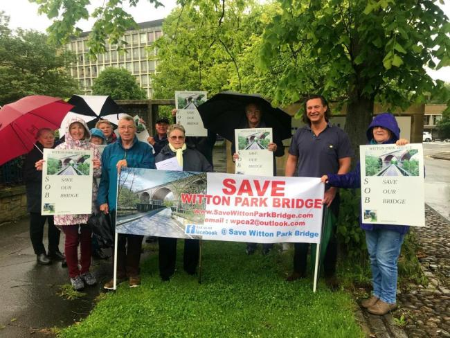 Campaigners said they are delighted following news a closed bridge will be replaced