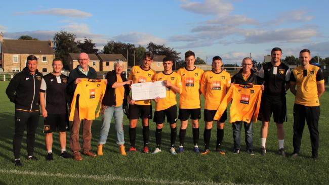 The Durham (General) Branch of the GMB trade union is sponsoring Crook Town Football Club this season