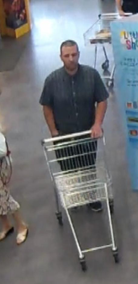 Do you recognise this man? Woman's purse stolen in Northallerton Picture: NYP