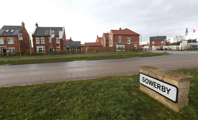 The housing development on Toplcliffe Road, Sowerby, Thirsk.   Picture: RICHARD DOUGHTY.