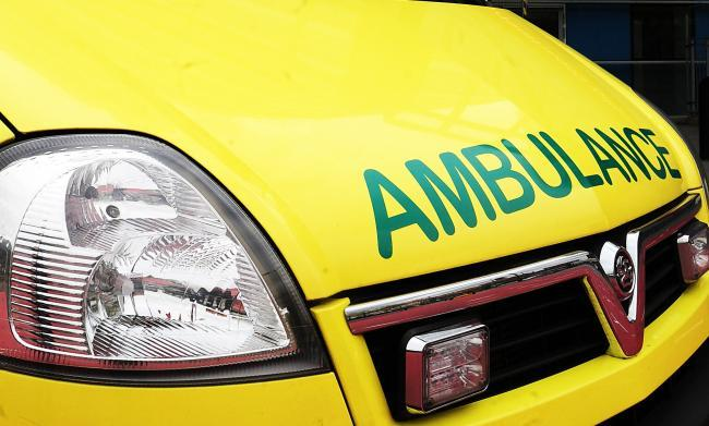 Paramedics were called to Richmond Garden Village after a man was stabbed