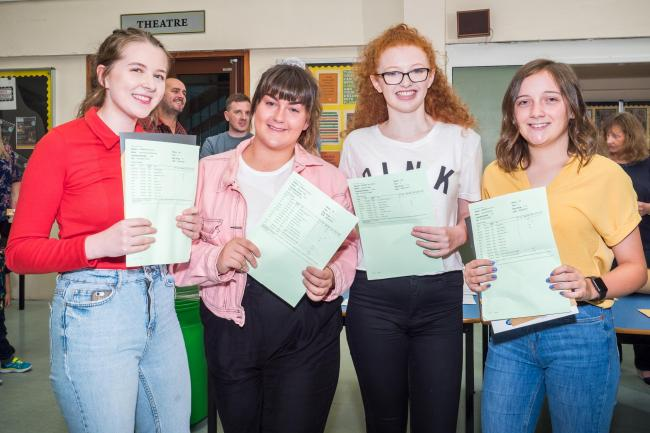 Secondary school celebrates after best results in school's history